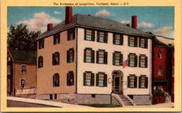 Maine Portland The Birthplace Of Longfellow Dexter Press - Portland