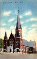 New Hamshire Nashua St Aloysius Church - Nashua