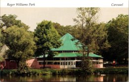 Rhode Island Providence Roger Williams Park The Carousel - Providence