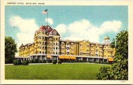Maine Rockland The Samoset Hotel - Etats-Unis