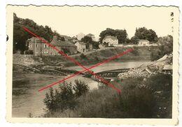 WW2 PHOTO ORIGINALE ALLEMANDE Pont De MONTCY SAINT PIERRE Ko CHARLEVILLE MEZIERES  08 ARDENNES - 1939-45