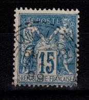 Obliteration Cachet Perlé Sur YV 101 TTB - 1876-1898 Sage (Tipo II)