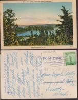 Postcard - USA - 1941 - Near Marion - Lake James  - Circulee - A1RR2 - Etats-Unis