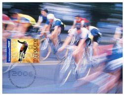 (H 2) Australia - Maxicard / Carte Maxium - Sport - Cycling (Commonwealth Games) - Cartes-Maximum (CM)