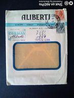 BUSTA COMMERCIALE - INDUSTRIA ENOLOGICA ALIBERTI, CANELLI (ASTI) - 1956 - Italy