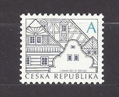 Czech Republic 2012 MNH ** Mi 752 Sc 3491 Folk Architecture A.Tschechische Republik - Tchéquie