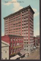 Postcard - USA - Circa 1940 -  Bank Of Comerce - Non Circulee - A1RR2 - Norfolk