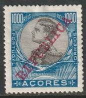 Azores 1910 Sc 139  MH Some DG - Açores