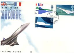 (H 4) Concorde 1st Flight - 1969 (with Insert) - Concorde