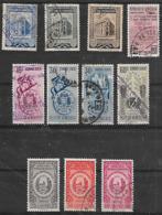 1951-4 Venezuela Correo-conf. Interamericana-monumento-convencion Postal 11v. - Venezuela