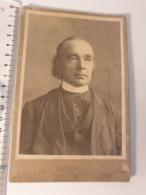 Grande Cdv Ancienne Années 1901. Portrait D Un Prêtre à  Alburquerque.  Nouveau Mexique Aux états. - Ancianas (antes De 1900)