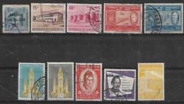 1957-9 Venezuela Hospital-cent. Del Sello De Correo-panteon Nac-personajes-correo 10v. - Venezuela