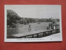 RPPC Olivecrest  Cuba Lake  New York >   Ref 4271 - NY - New York