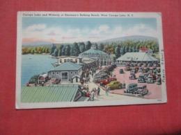 Sherman's Bathing Beach  West Carog Lake  New York >   Ref 4271 - NY - New York