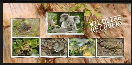 AUSTRALIA, 2020 WILDLIFE RECOVERY MINISHEET MNH - 2010-... Elizabeth II