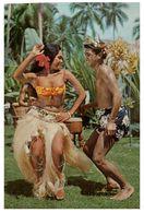 (H 5) Fiji (posted To Australia) - Tahitian Dancers - Danses