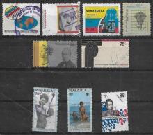 1979-80 Venezuela Instituto Postal-paises Exportadores De Petroleo-personajes-año Del Niño 9v. - Venezuela