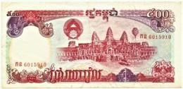 Cambodia - 500 Riels - 1991 - Pick 38 - Cambogia