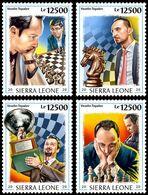 Sierra Leone 2020   Veselin Topalov ,chess S202006 - Sierra Leone (1961-...)
