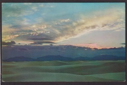 Postcard - USA - Circa 1950 - White Sands National Monument - Non Circulee - A1RR2 - Etats-Unis