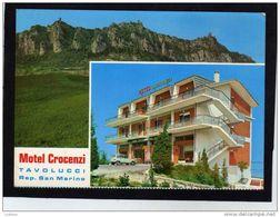 San Marino - Motel Crocenzi ( 2 Scans) - San Marino