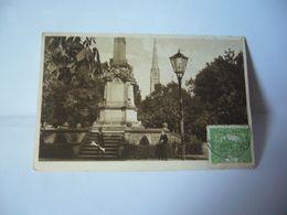 TEPLITZ SCHONAU TCHÉQUIE Teplice  Teplitz, Anciennement « Tœplitz-Schœnau »KRIEGERDENKMAL CPA 1920 - Tchéquie