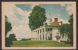 Postcard - USA - Circa 1940 - The Mount Vernon Mansion - Non Circulee - A1RR2 - Etats-Unis