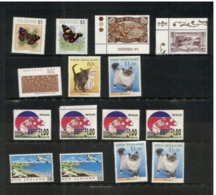 (stamps 5/8/2020) Selection Of New Zealand Stamps (no Postmark) 15 Stamps - Unclassified