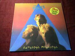 POLICE ° ZENYATTA MONDATTA - Vinyl-Schallplatten