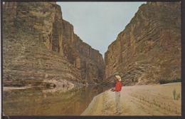 Postcard - USA - Circa 1960 - Santa Elena Canyon And Rio Grande - Non Circulee - A1RR2 - Big Bend