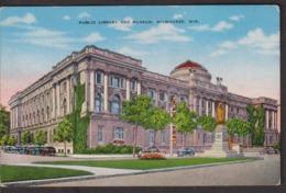 Postcard - USA - Circa 1940 - Public Library And Museum - Non Circulee - A1RR2 - Milwaukee