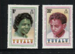 (stamps 5/8/2020) Tuvalu (2 Mint Stamps) Year Of The Child - Tuvalu
