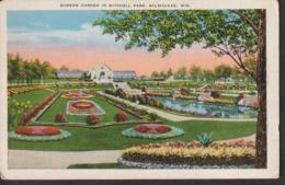 Postcard - USA - Circa 1940 - Mitchell Park - Non Circulee - A1RR2 - Milwaukee