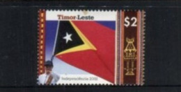 (stamps 5/8/2020) Timor Leste (1 Mint Stamp) Flag - East Timor