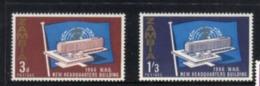 (stamps 5/8/2020) Zambia (2 Mint Stamp) WHO - Zambie (1965-...)