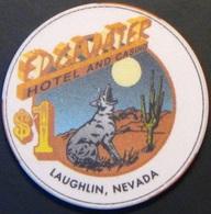$1 Casino Chip. Edgewater, Laughlin, NV. N35. - Casino