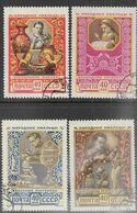 Russia  1957   Sc#1924-7 Used  2016 Scott Value $3.20 - 1923-1991 USSR