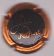 Capsule Champagne NIVET Julie ( Nr ; Noir Contour Cuivre ) {S34-20} - Champagne