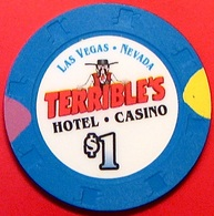 $1 Casino Chip. Terrible's, Las Vegas, NV. N38. - Casino