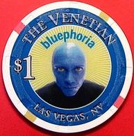 $1 Casino Chip. Venetian, Las Vegas, NV. N38. - Casino