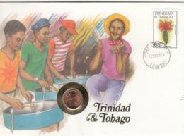 AK - Numis Brief - (Münzbrief) - Trinidad&Tobago -1987 - Trinidad En Tobago