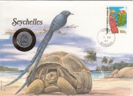 AK - Numis Brief - (Münzbrief) - SEYCHELLES - 1988 - Seychelles