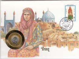 AK - Numis Brief - (Münzbrief) - IRAN - 1987 - Irán