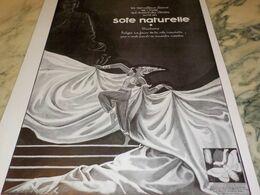 ANCIENNE PUBLICITE PARURE DES REINES SOIE NATURELLE  1930 - Altri