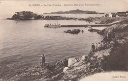(VAR) GIENS  La Tour Fondue    ; Embarcadère Pour Porquerolles - Autres Communes
