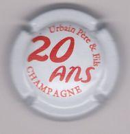 Capsule Champagne URBAIN Père & Fils ( 48a ; 20 Ans , Blanc Et Rouge ) {S34-20} - Champagne