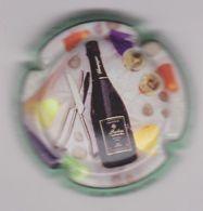 Capsule Champagne SENDRON_DESTOUCHES ( 8 ; Millésime , Contour Vert ) 5€ {S34-20} - Champagne