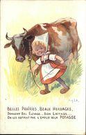 RIGHT  Belles Prairies  Beaux Herbages  ....Potasse D' Alsace - Right