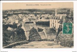 Carte De BELLE ISLE EN TERRE Vue Prise De La Rose  ( Recto Verso ) - Autres Communes