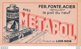 BUVARD  Liquide Pâte Métapol  Lion Noir - Pulizia